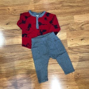 Hanna Andersson Outfit Baby Boy Size 70